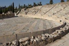 Teatro de Dionysus fotografía de archivo libre de regalías