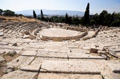 Teatro de Dionysus, Atenas imagen de archivo libre de regalías