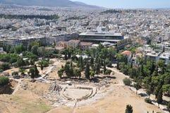 Teatro de Dionysus, Atenas, Grécia Imagens de Stock Royalty Free