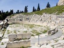 Teatro de Dionysus em Atenas, Fotografia de Stock Royalty Free