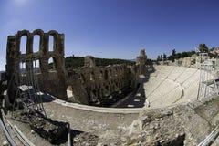 Teatro de Dionysus em Atenas Imagem de Stock Royalty Free