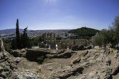 Teatro de Dionysus en Atenas Foto de archivo