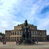 Teatro de Dresden Fotos de archivo libres de regalías