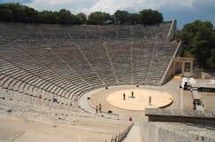 Teatro de Epidauros Imágenes de archivo libres de regalías