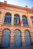 Teatro de Falla, carnaval de Cadiz, a Andaluzia, Espanha imagens de stock