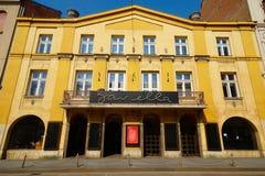 Teatro de Gavella, Zagreb fotografía de archivo libre de regalías