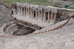 Teatro de Hierapolis, Pamukkale, Denizli Fotografía de archivo libre de regalías
