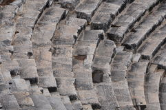 Teatro de Hierapolis, Pamukkale, Denizli Fotos de archivo