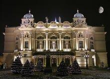 Teatro de Juliusz Slowacki, Krakow Foto de Stock