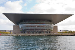 Teatro de la ópera de Copenhague Foto de archivo