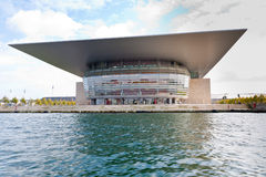Teatro de la ópera de Copenhague Imagen de archivo
