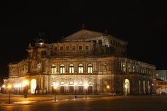 Teatro de la ópera de Dresden Fotos de archivo