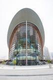 Teatro de la ópera de Dubai en un día nublado Fotografía de archivo