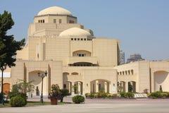 Teatro de la ópera de El Cairo Foto de archivo