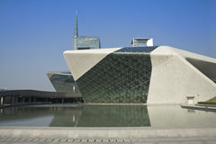 Teatro de la ópera de Guangzhou Foto de archivo