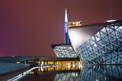Teatro de la ópera de Guangzhou Fotografía de archivo