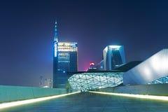 Teatro de la ópera de Guangzhou en China Fotos de archivo