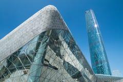 Teatro de la ópera de Guangzhou en China de Guangzhou Foto de archivo libre de regalías
