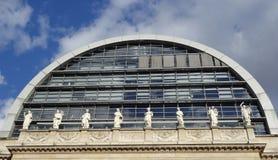 Teatro de la ópera de Nouvel en Lyon, Francia Imagen de archivo libre de regalías