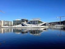 Teatro de la ópera de Oslo, Noruega foto de archivo
