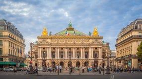 Teatro de la ópera de París Foto de archivo libre de regalías