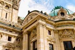 Teatro de la ópera de París foto de archivo