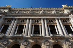 Teatro de la ópera de París Fotos de archivo