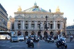 Teatro de la ópera de París en París Imágenes de archivo libres de regalías