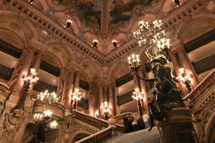 Teatro de la ópera de París en París, Francia Fotografía de archivo
