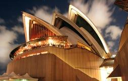 Teatro de la ópera de Sydney Fotografía de archivo libre de regalías