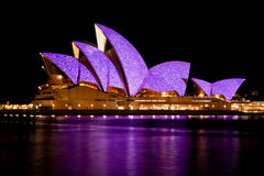 Teatro de la ópera de Sydney - 20 de enero de 2010 Fotos de archivo