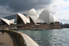 Teatro de la ópera de Sydney Imágenes de archivo libres de regalías