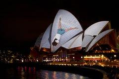 Teatro de la ópera de Sydney, Australia Foto de archivo