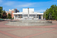 Teatro de la ópera del estado de Krasnoyarsk Fotos de archivo