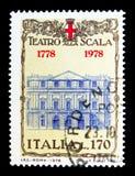 Teatro de la ópera del La Scala, serie, circa 1978 Foto de archivo libre de regalías