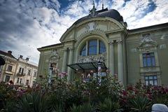 Teatro de la ópera en Chernivtsi Fotos de archivo libres de regalías