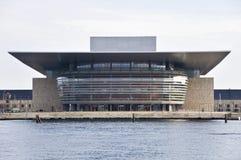 Teatro de la ópera en Copenhague Foto de archivo libre de regalías