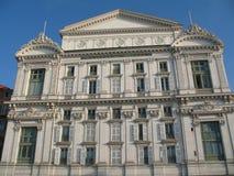 Teatro de la ópera en Niza Fotos de archivo