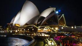 Teatro de la ópera en Quay circular Imagenes de archivo