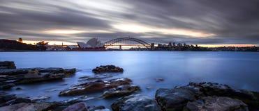 Teatro de la ópera en Sydney Foto de archivo libre de regalías