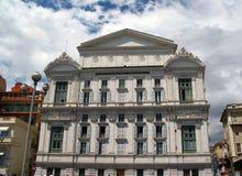 Teatro de la ópera, Niza, Francia Fotografía de archivo