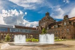 Teatro de la ópera Nuremberg, Alemania fotos de archivo