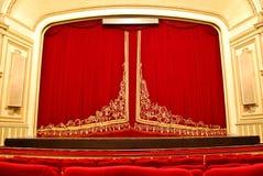 Teatro de la ópera público - etapa principal y asiento Fotos de archivo
