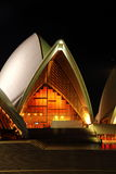 Teatro de la ópera Pasillo de Sydney Fotos de archivo