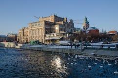 Teatro de la ópera real en Estocolmo Fotografía de archivo