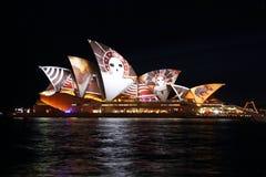 Teatro de la ópera Sydney Imágenes de archivo libres de regalías