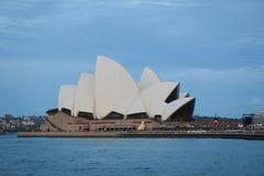 Teatro de la ópera Sydney imagenes de archivo
