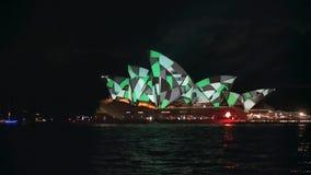 Teatro de la ópera de Sydney con los modelos verdes y grises para 2015 vivo