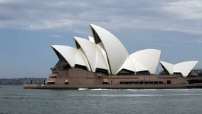 Teatro de la ópera de Sydney en Australia almacen de video