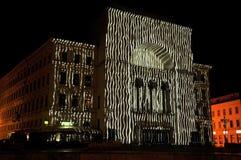 Teatro de la ópera de Timisoara imagenes de archivo